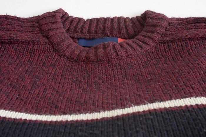 Акрил смешанный с шерстью идеально подходит для свитеров