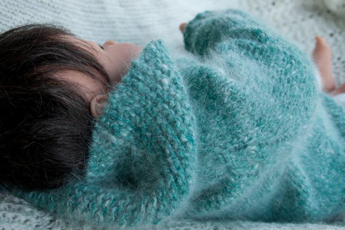 Гипоаллергенный пух используется в составе одежды для новорожденных