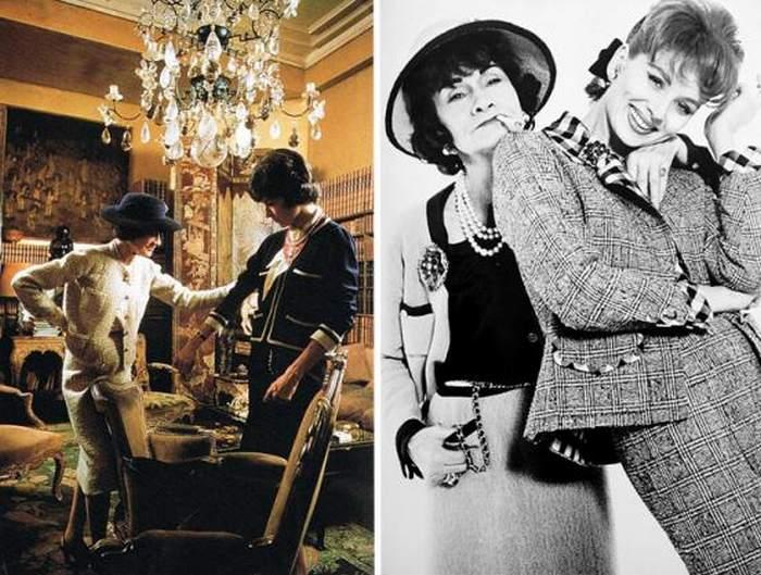 История ткани связана с именем дизайнера Коко Шанел