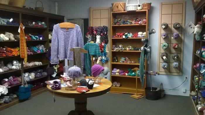 Магазин одежды из альпаки