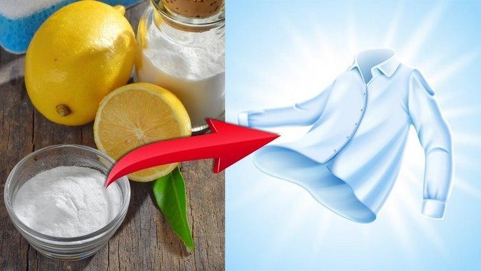 Надежный способ выводить пятна лимоном