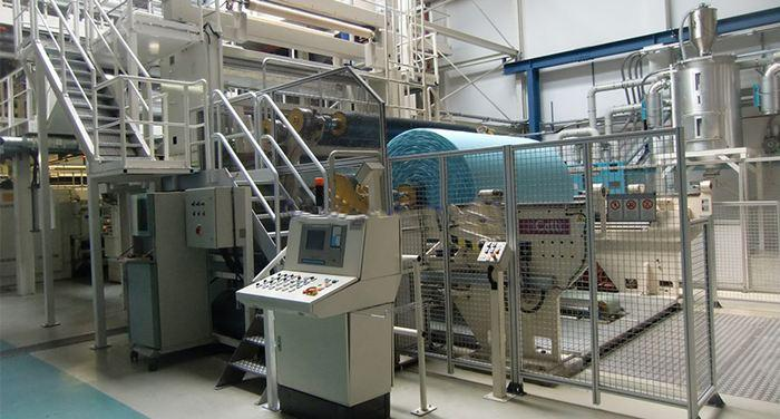Производство ткани бифлекс