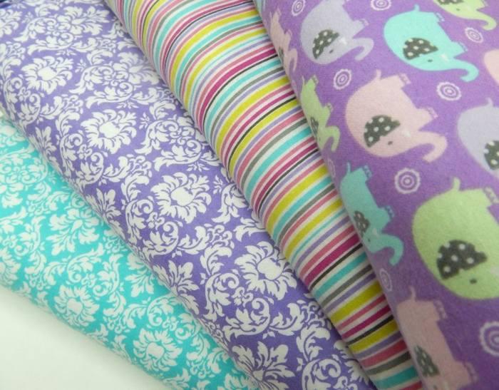 Ткань байка используется для пошива детской одежды
