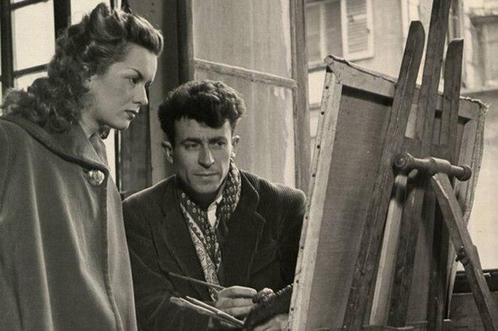Художник в вельветовом пальто. 1946 год