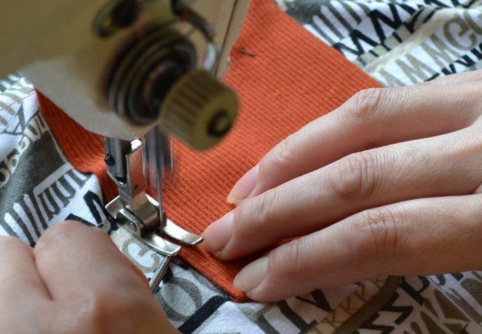 Как сшить трикотаж джерси на швейной машине