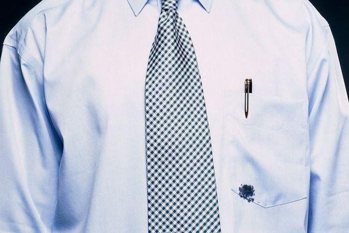 Как вывести чернила от шариковой ручки