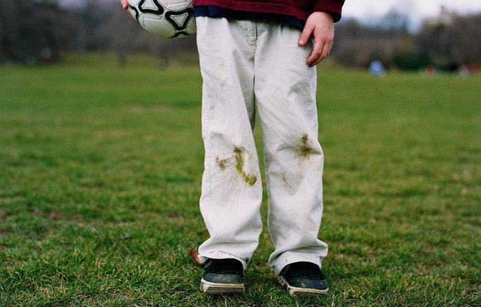 Как вывести пятна от травы