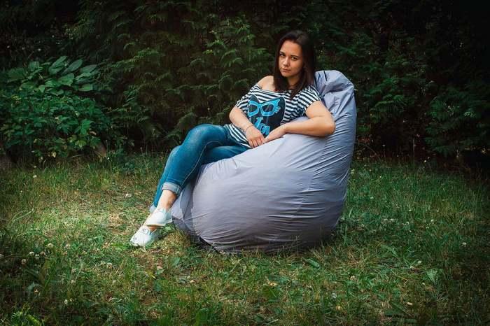 Кресло-мешок из ткани дюспо