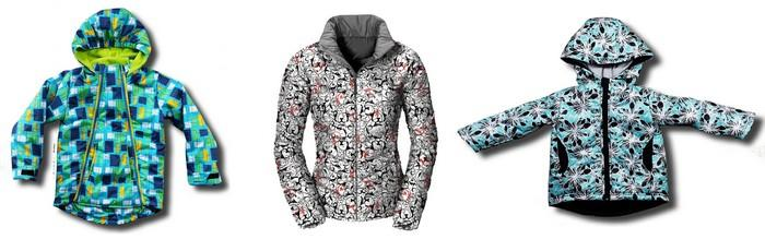 Куртки из ткани дюспо