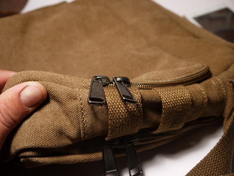 Мужская сумка из канваса