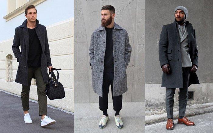 Мужские драповые пальто