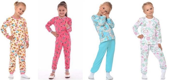 Пижама на девочку из кулирки