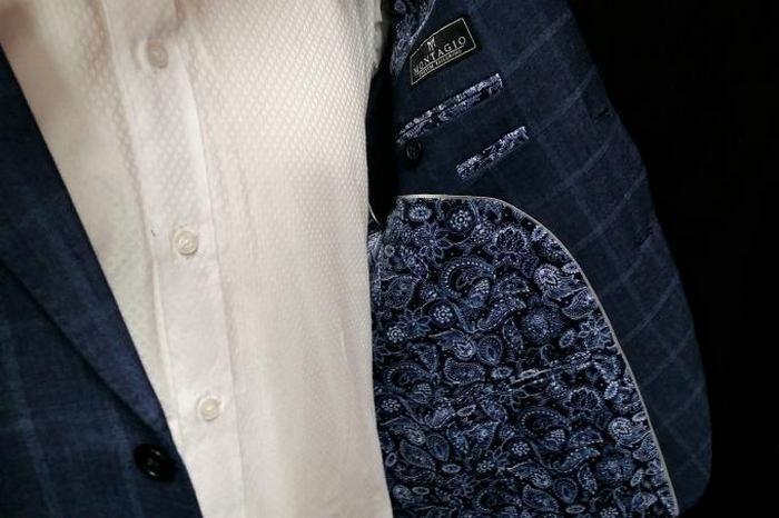 Подкладка пиджака из ткани купро