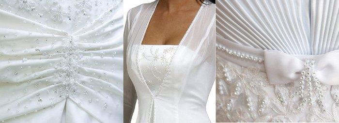 Свадебное платье дюшес