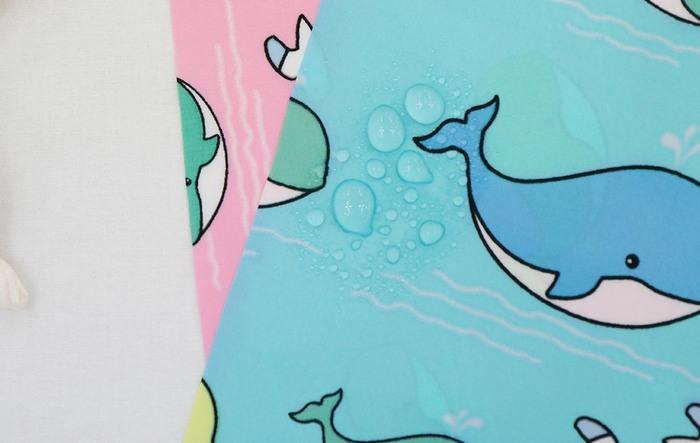 Ткань дюспо с водоотталкивающими свойства для детей