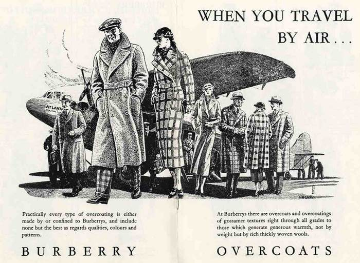 Томас Берберри изобрел и запатентовал габардин