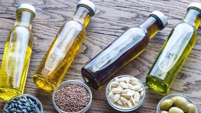 Виды растительного масла