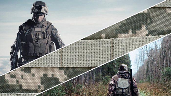Военная форма из ткани кордура