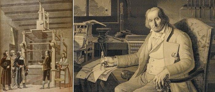 Жозеф Мари Жаккар разработал уникальный станок
