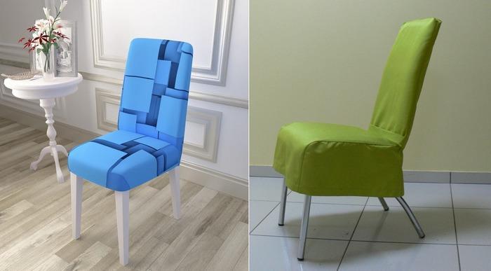 Чехлы на стулья из сатена
