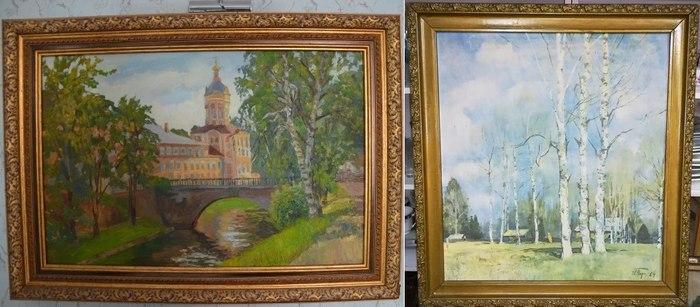 Картины, репродукция на коленкоре
