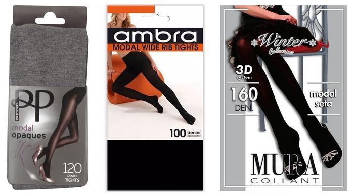 Колготки для женщин из модала