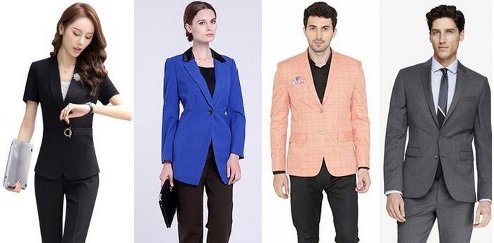 Комплект из брюк и пиджака полиэстер