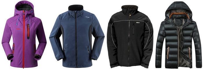 Куртки из полиэстера