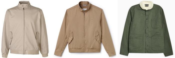 Куртки из твила