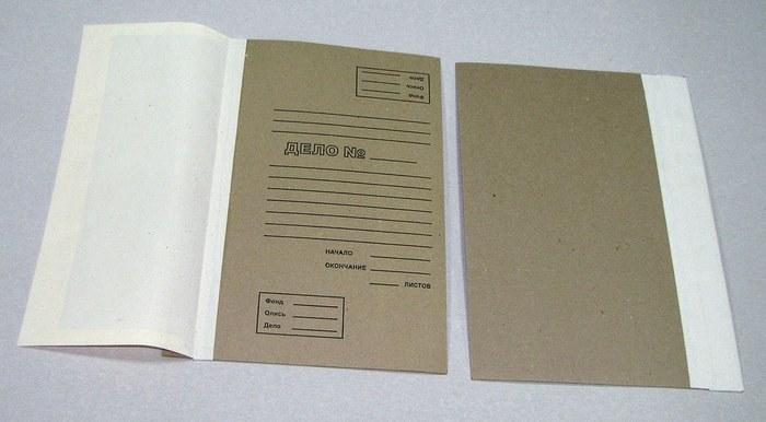 Набор переплетный под А4 формат с корешком из коленкора