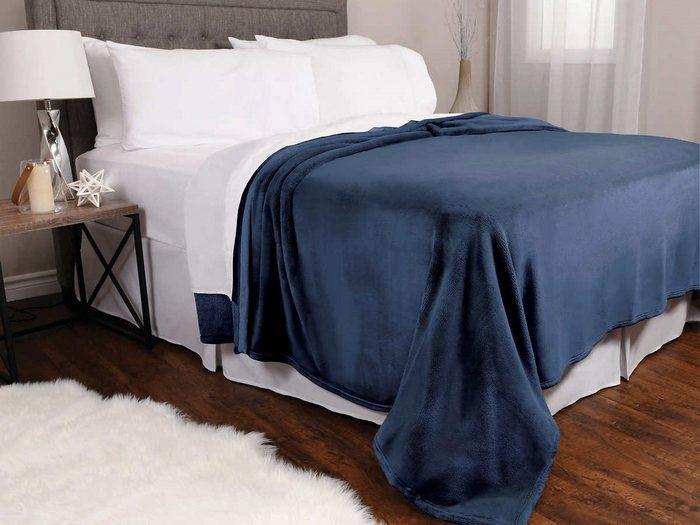 Одеяло из плюша