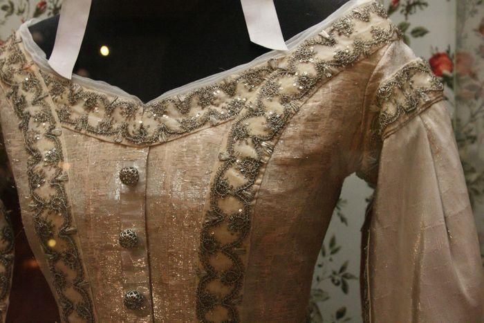 Платье из парчи княжны Ольги Николаевны
