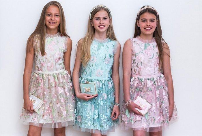 Нарядные платья для девочек 10-12 лет