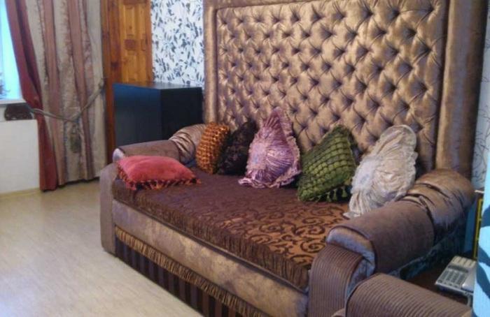 Обивка мягкой мебели тафтой