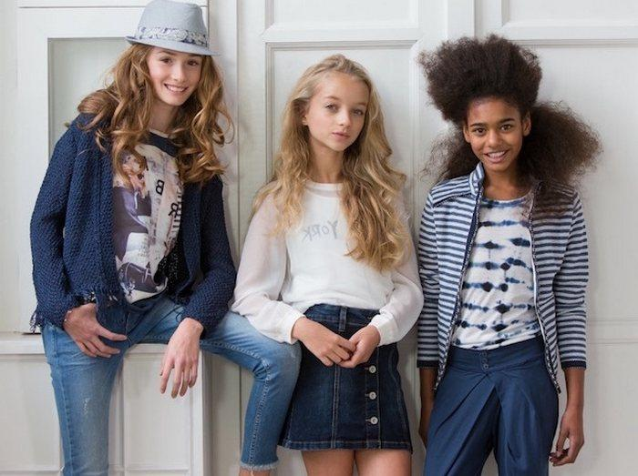 Одежда для прогулок для девочек 10-12 лет
