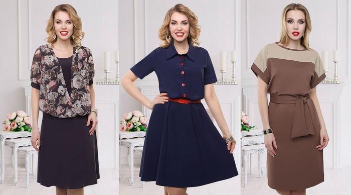 Офисные платья из тканей лайт