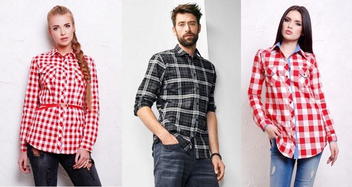 Рубашки из фланели