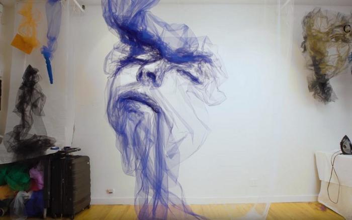 Тюль в искусстве. Бенджамин Шайн