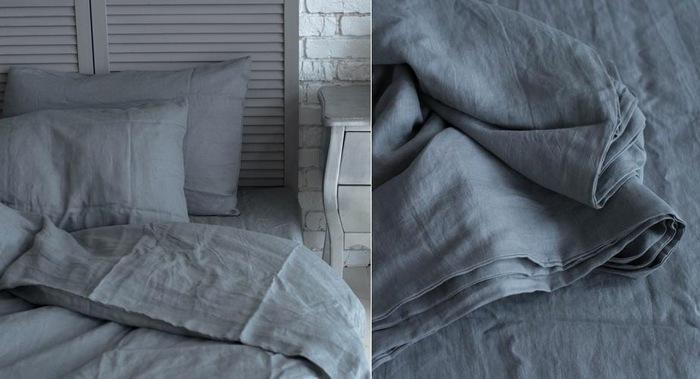 Комплекты постельного белья из линона