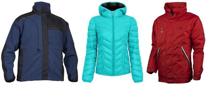 Куртки из полиамида