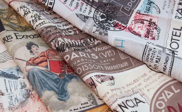 Мебельная ткань cкотчгард TRAVEL