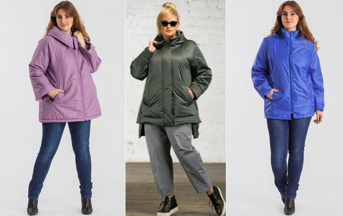Женские куртки из ткани болонья