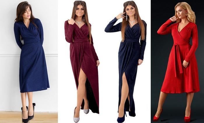 Женское платье трикотаж фукра