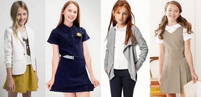 Что одеть в школу девочке 10-12 лет