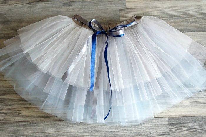 Детская юбка из еврофатина
