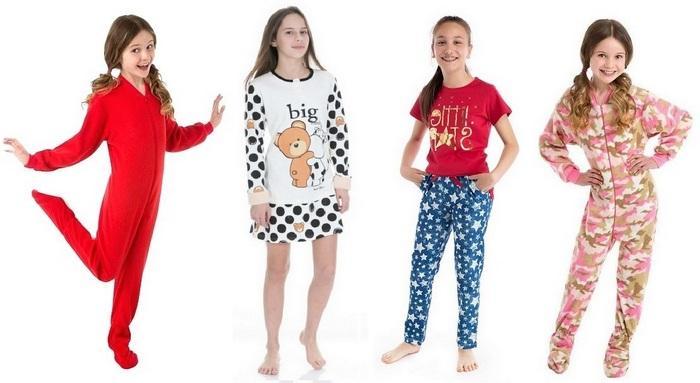 Домашняя одежда для девочки-подростка фото
