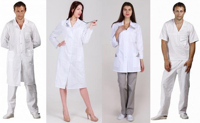 Медицинская одежда из хлопчатобумажной ткани