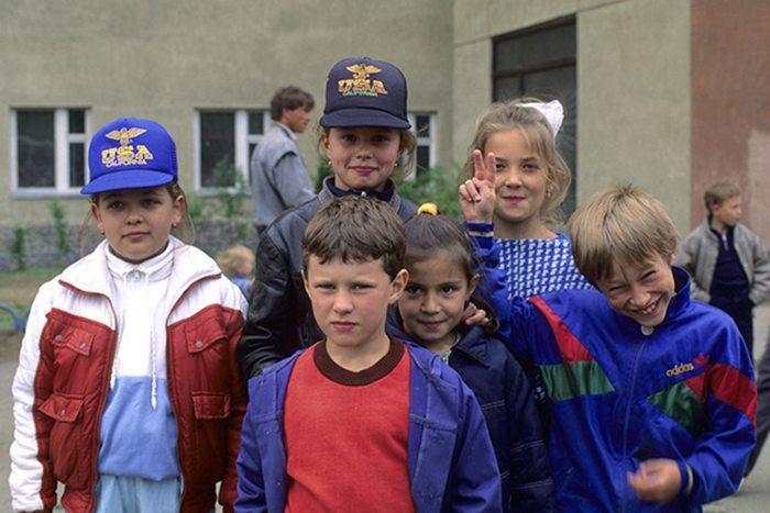 Мода 90 х дети фото