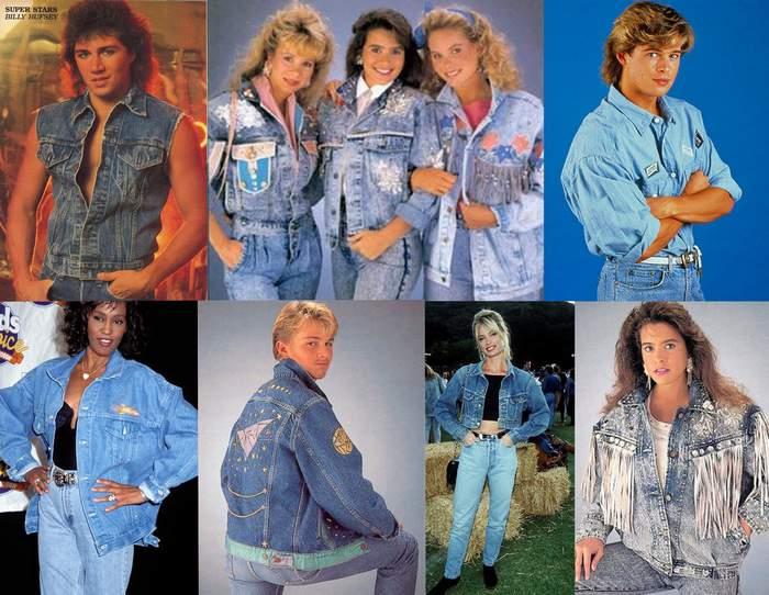 Мода на джинсовую одежду 90-х годы
