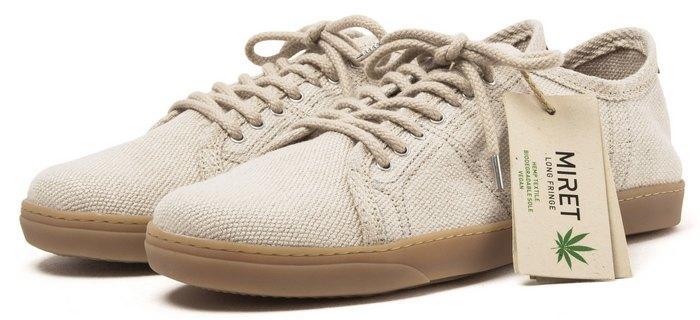 Обувь из конопляной ткани